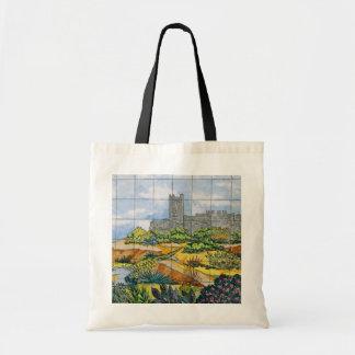 Fuengirola Castle tile, Fuengirola, Malaga, Sp Bags