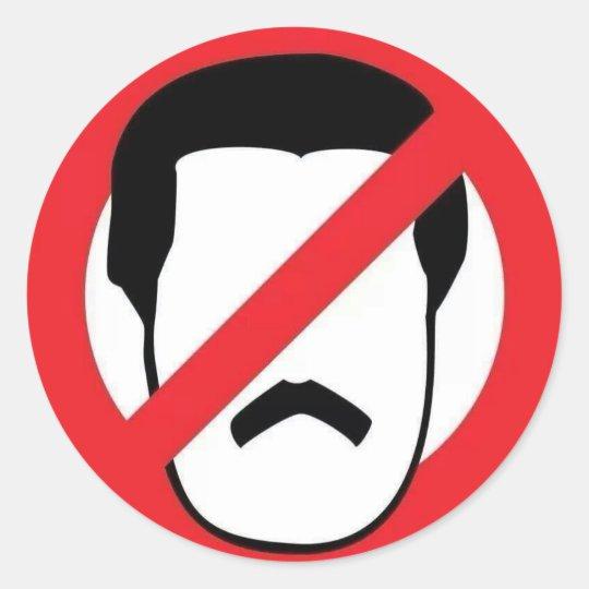 Fuera Maduro Classic Round Sticker