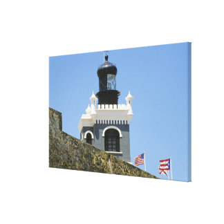 Fuerte San Felipe del Morro's grey castellated Stretched Canvas Prints
