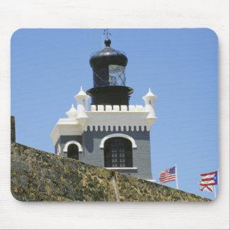 Fuerte San Felipe del Morro's grey castellated Mousepad