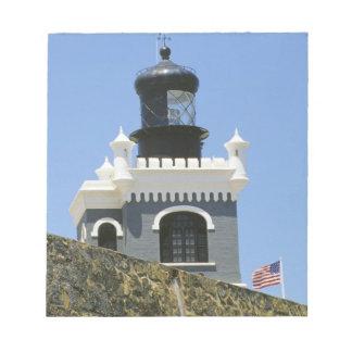 Fuerte San Felipe del Morro's grey castellated Notepads