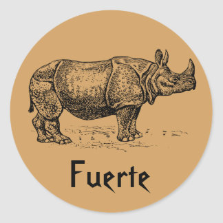 Fuerte Spanish Stickers - Show your strength!