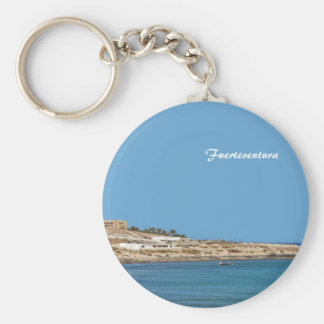 Fuerteventura Basic Round Button Key Ring
