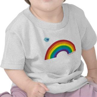 FUG Kids Rainbow Bird Tee Shirt