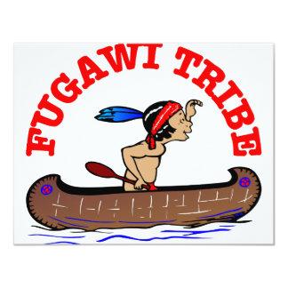 Fugawi Tribe 11 Cm X 14 Cm Invitation Card