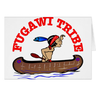 Fugawi Tribe Greeting Card