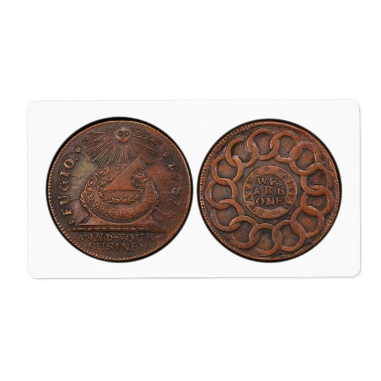 Fugio Cent Mind Your Business Front and Back