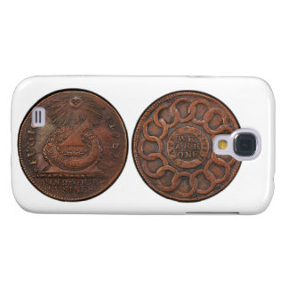 Fugio Cent Mind Your Business Front and Back Galaxy S4 Case