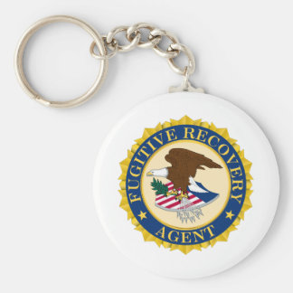 Fugitive Recovery Agent Key Ring