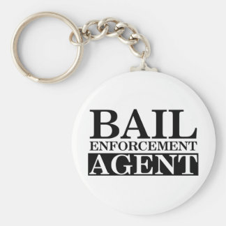 Fugitive Recovery Agent Keychains