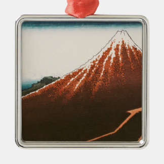 Fuji above the Lightning' Christmas Ornament