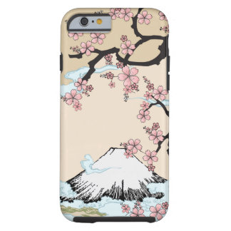 Fuji and Sakura - Japanese Design iPhone 6 case