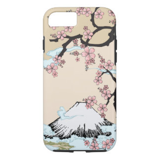 Fuji and Sakura - Japanese Design iPhone 7 case