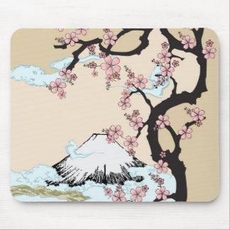 Fuji and Sakura Mouse Mat