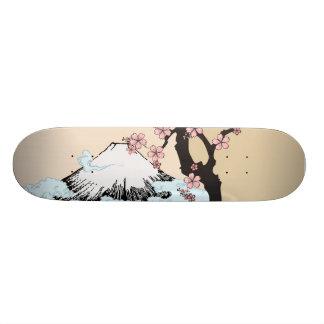Fuji and Sakura: skateboard 20 Cm Skateboard Deck
