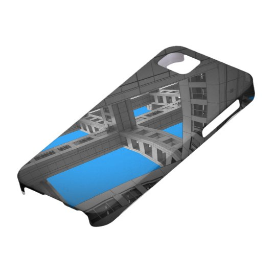 Fuji Building whole ways iPhone 5 Cases