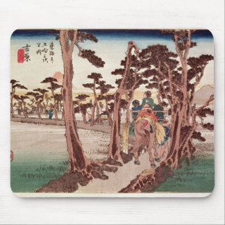 Fuji from Yoshiwara Mouse Mat