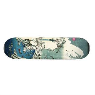 Fuji River Winter 1830 21.3 Cm Mini Skateboard Deck