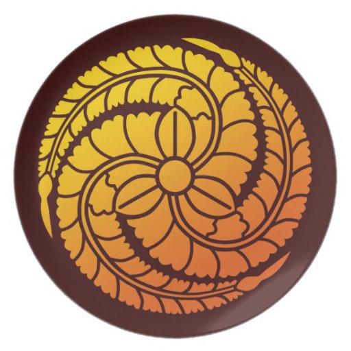 Fujidomoe (YO) Plate