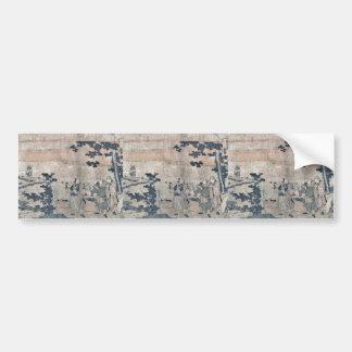 Fujisawa by Utagawa, Toyohiro Ukiyoe Bumper Stickers