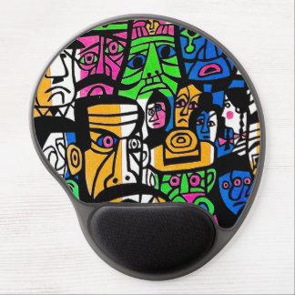 Fujishima Takeji THREE GENERATION abstract art Gel Mouse Pad