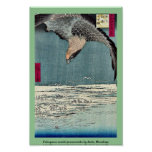 Fukagawa susaki jumantsubo by Ando, Hiroshige Poster
