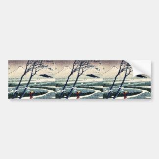 Fukeiga by Katsushika, Hokusai Ukiyoe Bumper Stickers