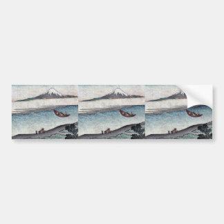 Fukeiga by Katsushika, Hokusai Ukiyoe Bumper Sticker