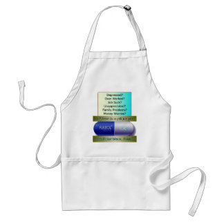Fukitol, job sucks, over worked, no worries, standard apron