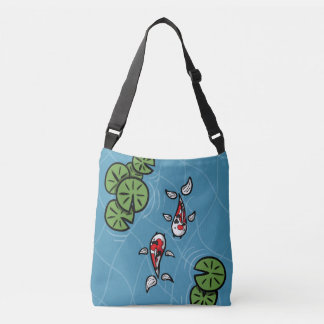 Fuku and Heiwa the Koi All-Over-Print Bag