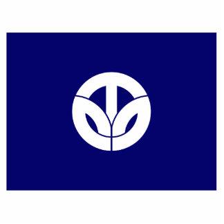 Fukui Prefecture, Japan flag Acrylic Cut Out