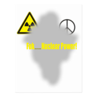 Fukushima Lesson Postcard