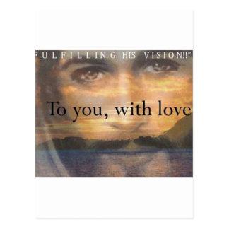 Fulfilling His Vision Postcard