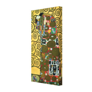 Fulfillment aka The Embrace by Gustav Klimt Canvas Print