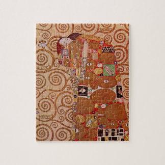 Fulfillment by Gustav Klimt, Vintage Art Nouveau Puzzles