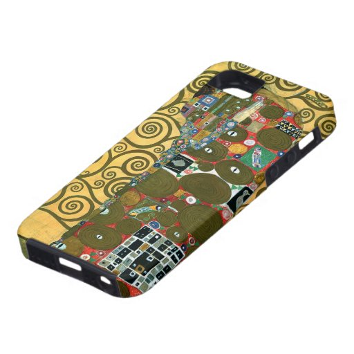 Fulfillment (The Embrace) by Gustav Klimt iPhone 5 Covers