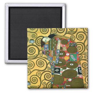 Fulfillment The Embrace by Gustav Klimt Fridge Magnets