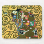 Fulfilment aka The Embrace by Gustav Klimt Mouse Pad
