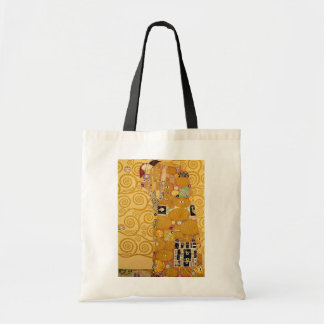 Fulfilment Stoclet Frieze c 1905-09 Tote Bags