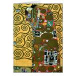 Fulfilment (The Embrace) by Gustav Klimt