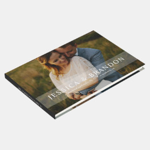 Full Bleed Photo Wedding or Special Occasion Guest Book