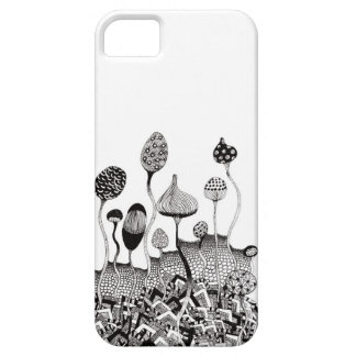 Full-blown flowers barely there iPhone 5 case