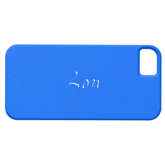 Full Blue iPhone 5 case for Lou
