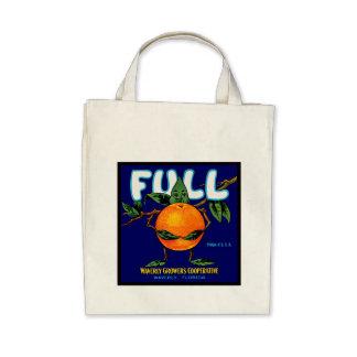 Full Brand Oranges Label Bags