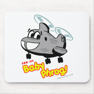 Full-Color Baby Phrog Mouse Pad