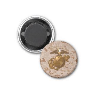 Full-Color EGA - Bronze 3 Cm Round Magnet
