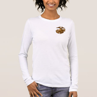 Full-Color EGA - Bronze Long Sleeve T-Shirt