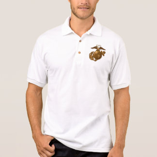 Full-Color EGA - Bronze Polo Shirt