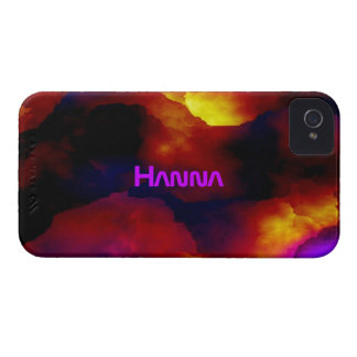 Full Color iPhone 4 case for Hanna