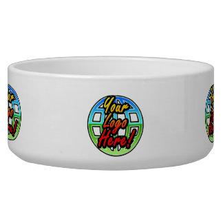 Full Color Logo Corporate Gift Custom Dog Bowl